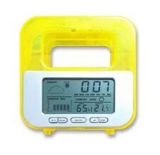 Water Powered Calendar Clock temperature humidity and weather meter Alarm Clocks