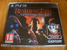 Resident Evil Operation Raccoon City Promo-PS3 ~ NUEVO (COMPLETO juego promocional)