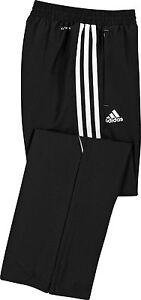 adidas-T12-Kinder-Sporthose-schwarz-Trainings-u-Jogginghose-Gr-140-152-164-176