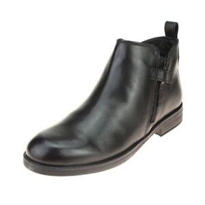 1f82aaac38b93 Image is loading Geox-Agata-Girls-Black-Ankle-Boot