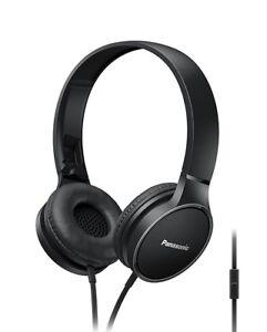 Panasonic-RP-HF300ME-K-arriba-para-Auriculares-Estereo-Con-Microfono-Y-Control-Remoto-Nuevo