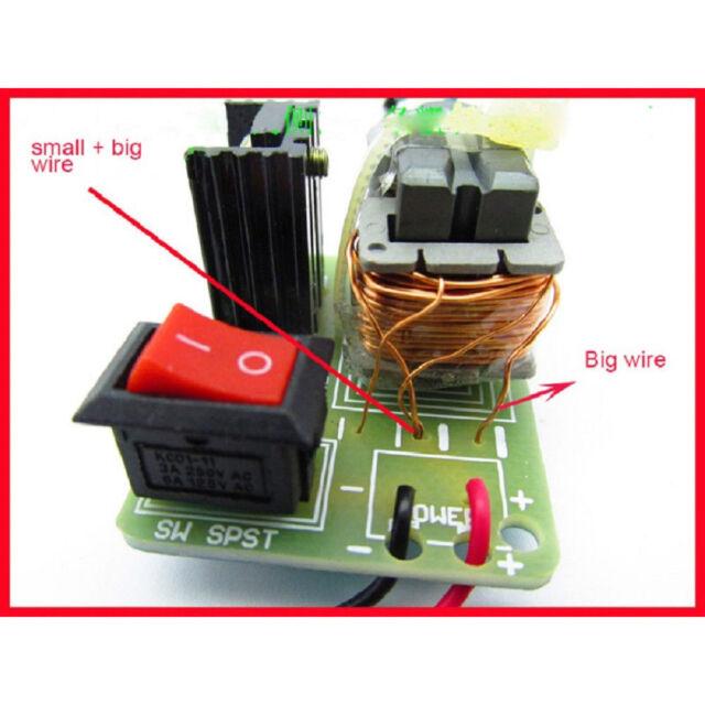 3.7V 15KV High Voltage Inverter Generator Spark Arc Ignition Coil Module DIY Kit
