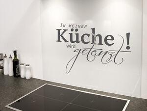 Küchentattoos  Wandtattoo Küche In meiner Küche wird getanzt Nr 1 Wand Tattoos ...