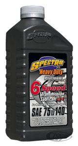Fully-Sythentic-75w140-Transmission-Oil-Harley-Davidson-Spectro-Noise-Reducing