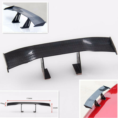 17cm Tiny Decorative MINI Car SUV Rear Wing Spoiler Model Single Deck Twill Look