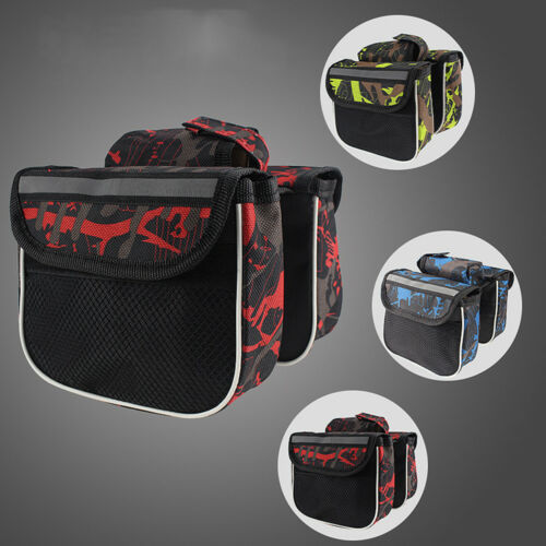 Cycling Bag Front Tube Frame Storage Delicate Bicycle Bag Bicycle Accessories