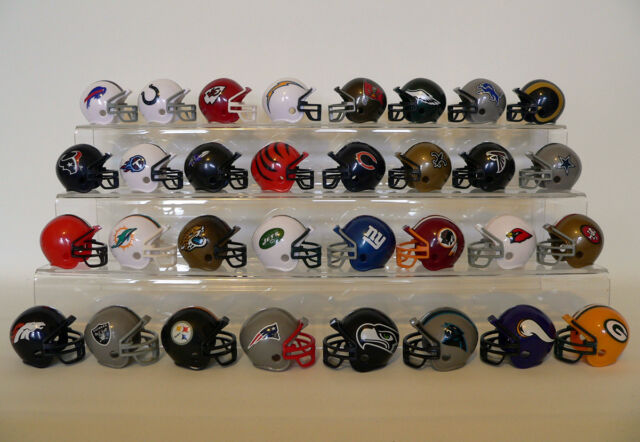 NFL Riddell Mini Casque - Football Américain - Tous Equipes - Chefs, 49ers, Etc.