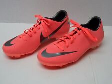 Nike 509109-800 Youth Size 5.5 Mercurial Glide III FG Bright Mango Cleats