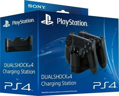 PS4 Dual Shock 4 Charging Station official charging station for 2 gamepads Sony