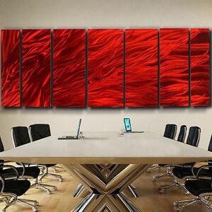 Image Is Loading Jon Allen Fine Crafted Modern Metal Abstract Wall