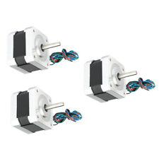 Set Of 3 Small Hybird Stepper Motor 03nm 42mm For Cnc Printer Nema17