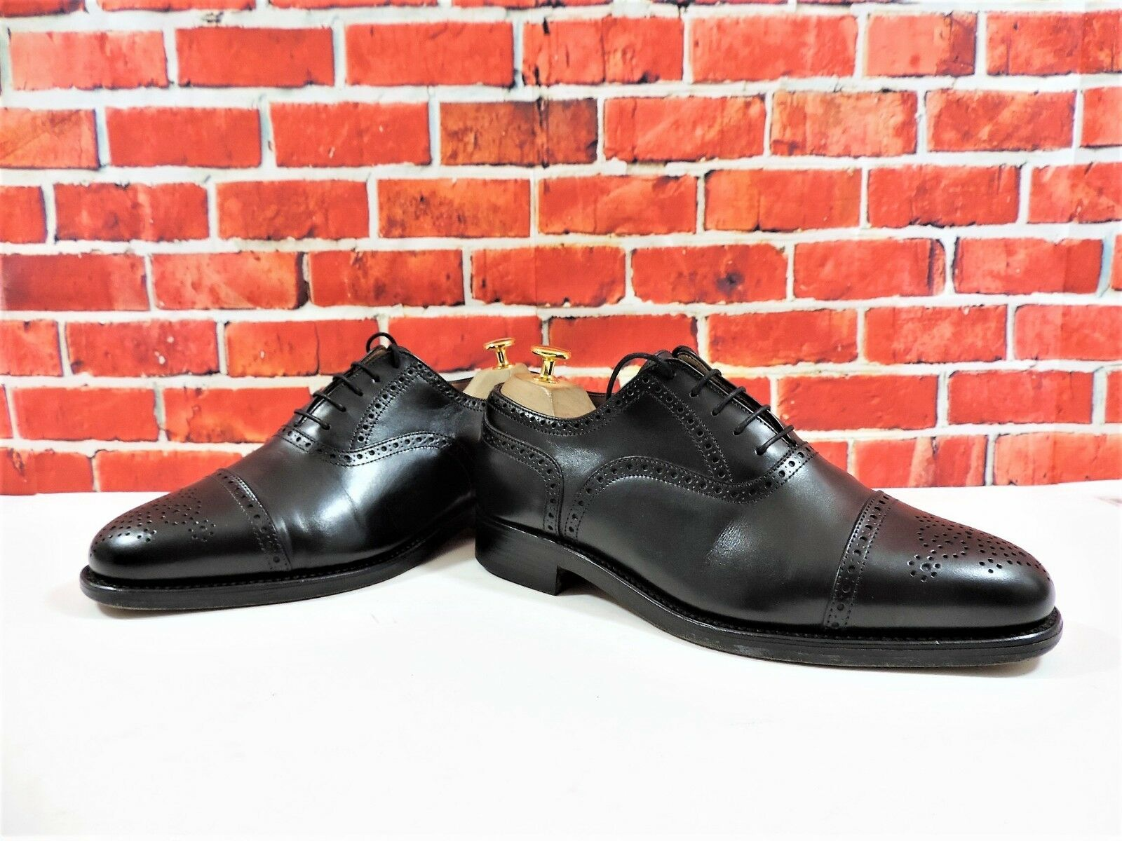 Alfrot SSilber Brogues UK 7.5 US 8.5 8.5 8.5 EU 41.5 FX Very minor use Good for Church 929a64