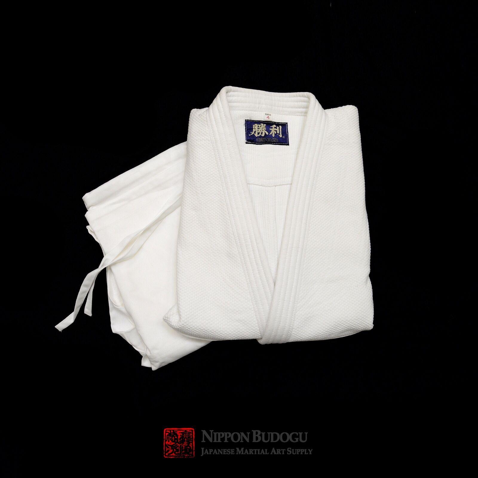New Japans Made Double Weved Shori Brand Uniform Judo Aikido Gi