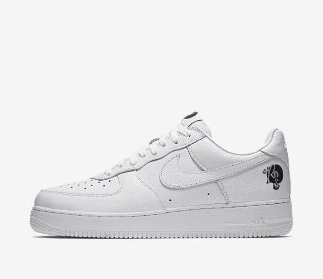 Nike Force 1 bajo'07 Roc recibo AiraFella Blanco A01070101 con recibo Roc 4174ee