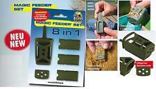 Behr Magic Feeder Set 8 in 1 Futterkorb Feederfutterkorb mit 4 Wechselgewichten