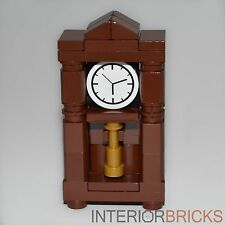 Custom LEGO® Furniture: Grandfather Clock - Parts & Instructions  :set,kit,house