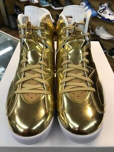 bb554da92ca Mens Air Jordan 6 Retro Pinnacle Metallic Gold/Wht 854271-730 100 ...
