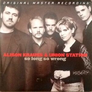 MFSL 2-276, 2-LPs: ALISON KRAUSS - So Long So Wrong - 2004 USA #d 180gm NM MOFI