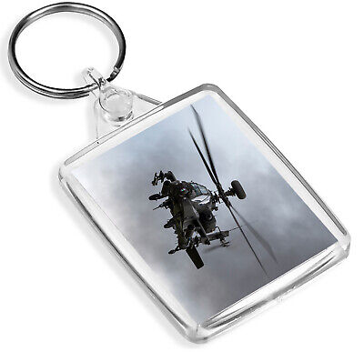 AH-64D Apache Attack Helicopter Keyring Plane Pilot Keyring Gift #12468