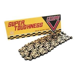 IZUMI IZUMI-V Super Toughness 1//2 x 1//8 106L Track Racing Bicycle Chain Gold
