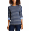 NEW-NAUTICA-WOMEN-039-S-3-4-CUFFED-SLEEVE-CHAMBRAY-CASUAL-TOP-VARIETY thumbnail 5