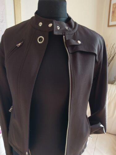 Klandstyne Jacket Designer New Italy Brown Made Ladies Size 40 In 1B1rwxtq