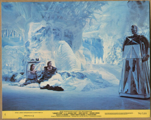 """Logan's Run"" - Ice Palace - Movie Still - # 76/120 (Grade VG+) WH"