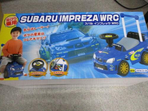 SUBARU IMPREZA WRC Ride-on toy Car for kids F//S Fom Japan Import New