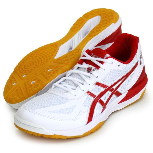 Asics Japan Herren Rote Lyte Ff Volleyball Schuhe Low Schnitt 1053A002 Weiß-rot