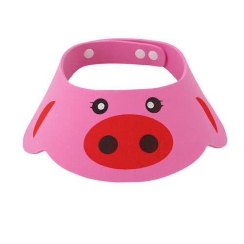 Kids Baby Child Adjustable Soft Waterproof Shield Shampoo Shower Bath Hat Cap FG
