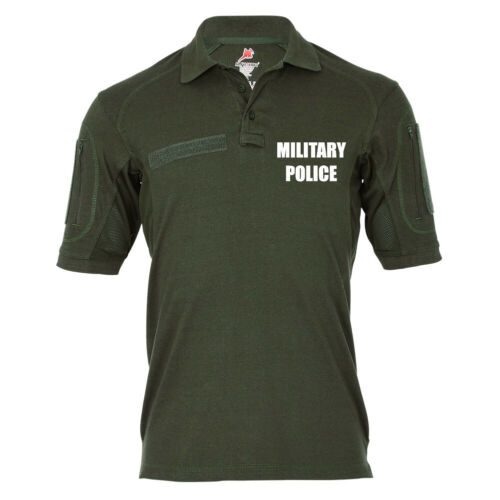Military Police MP Militärpolizei Feldjäger #19304 Tactical Poloshirt Alfa