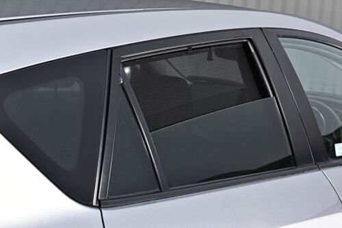 Ford Focus 3dr 04-11 UV CAR SHADES WINDOW SUN BLINDS PRIVACY GLASS TINT BLACK