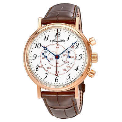Breguet Classique White Enamel Dial Men's Hand Wound Watch 5247BR/29/9V6