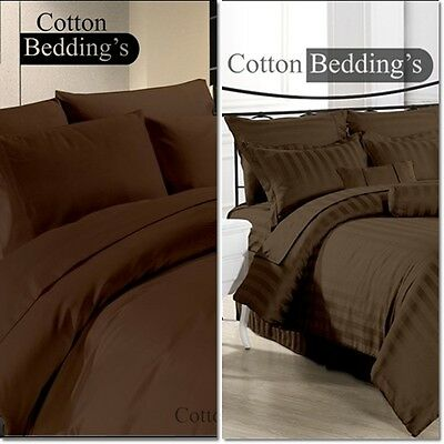 """Hotel Collection /"""" 1PC FITTED SHEET /"""" Egyptian Cotton 1000 TC All Size /& Colors"""