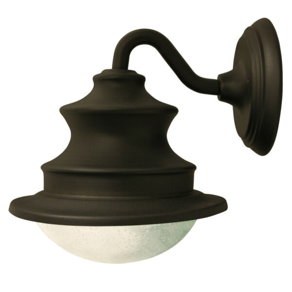 Outdoor Wall Mounted Lights For Sale: Gama Sonic Barn Solar Outdoor LED Light Fixture, Gooseneck