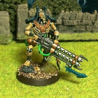 Painted Necron Royal Warden Miniature Warhammer 40k Indomitus Games Workshop Ebay