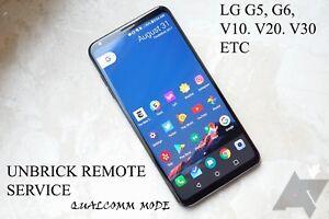 Details about Remote Service unbrick (LG G6 G5 V10 V20 V30) in Qualcomm  Mode 9008