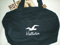 Hollister Classic So Cal Tote Bag Navy Blue With White Bird