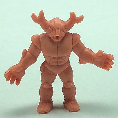 1985 VINTAGE M.U.S.C.L.E muscle man men wrestling wrestler 1985 action figure Mattel anime flesh color toy #179 black buffalo reindeer deer