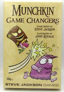 Munchkin-SJG1489-Game-Changers-Expansion-Boosters-Set-Steve-Jackson-Games-NIB