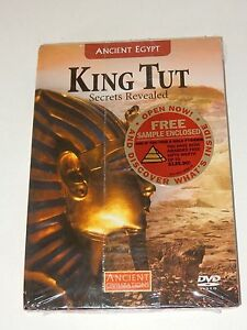 Ancient-Civilization-Egypt-King-Tut-Secrets-Revealed-DVD-amp-Book-SEALED