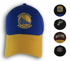 NBA Dad Hat Adjustable Cap Warriors, Cavs, Spurs, Raptors Hat Adult