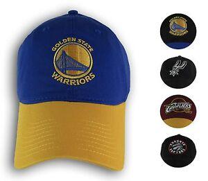 NBA Snap Back Slouch Adjustable Cap Finals 2017 Warriors, Cavaliers Hat Adult