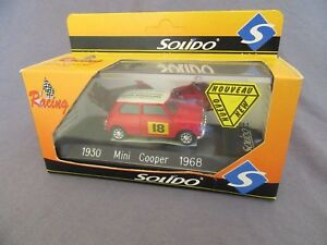 310G-Solido-1930-Mini-Cooper-1968-Bourse-Jouets-Miniatures-Couzon-2001-1-43