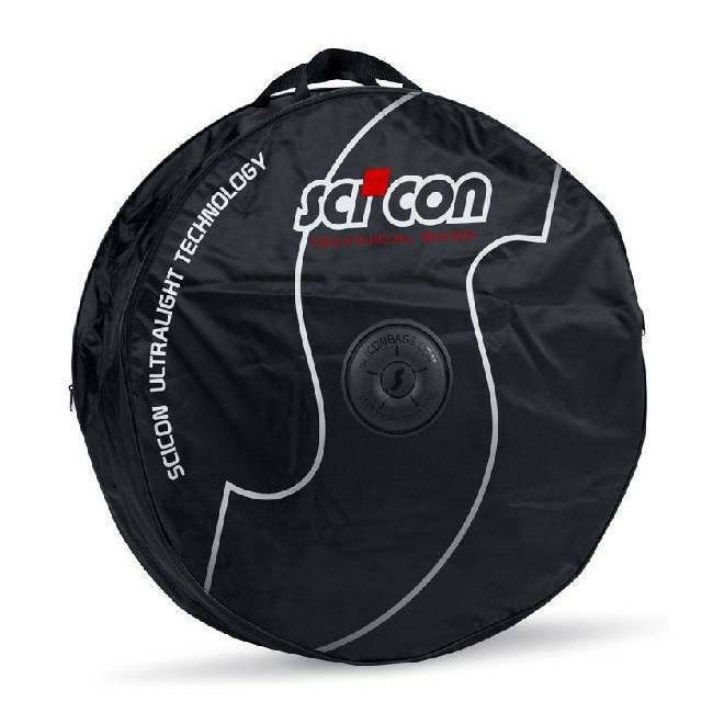 Wheel padded bag double SCICON transport