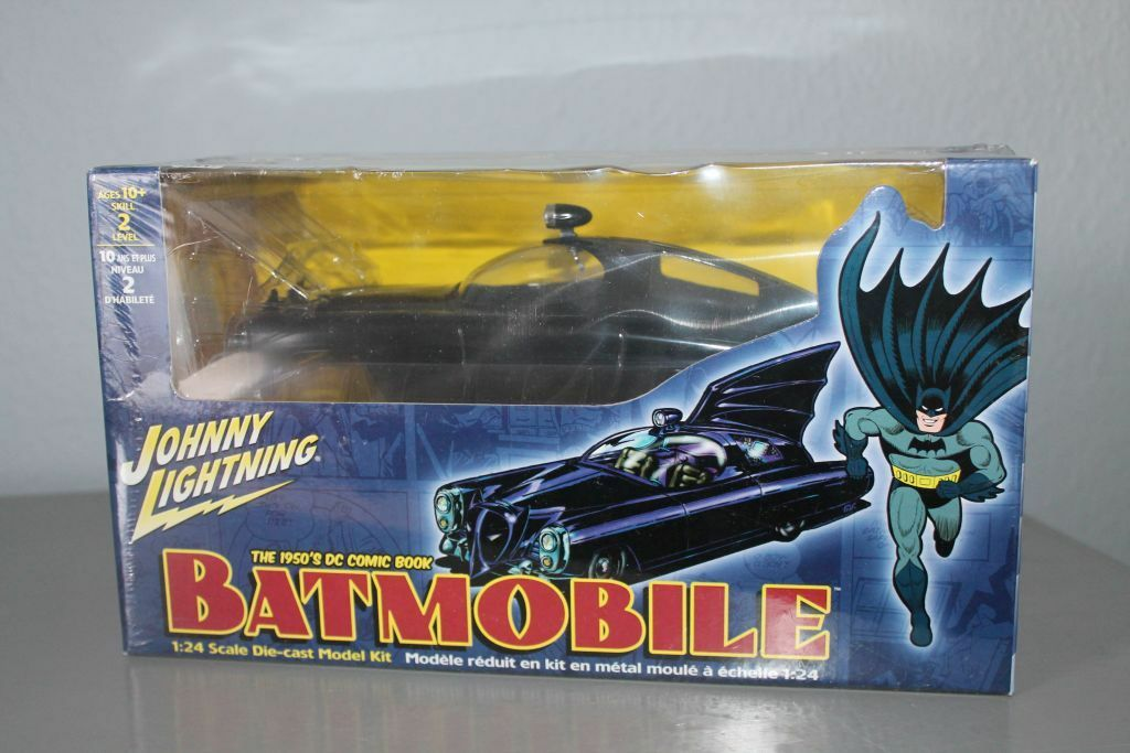 hasta un 60% de descuento Johnny Lightning    50´s Batmobile  dc comics  embalaje original  1 24  nuevo listado