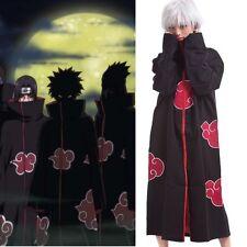 Naruto Akatsuki Uchiha Itachi Cosplay Cloak Deidara Pain Hidan Costume Uniform
