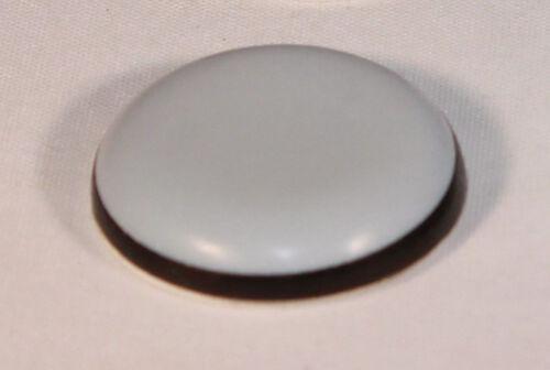4 Stück Teflongleiter selbstklebend Ø 30 mm Rund PTFE-Gleiter Untersetzer Möbel