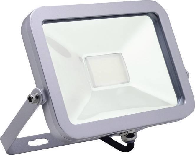 Megatron Focos de Exterior MT69854 gris Plata LED 20W IP65 con Arco