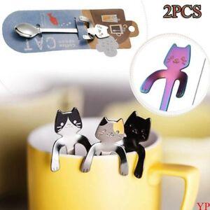 1-2pcs-cuchara-de-cafe-gato-cucharas-te-acero-inoxidable-cucharillas-helado